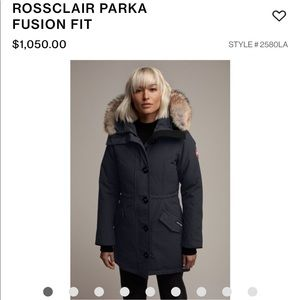 Canada Goose ROSSCLAIR PARKA FUSION FIT